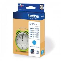 Brother originál ink LC-125XLC, cyan, 1200str., Brother MFC-J4510 DW LC125XLC