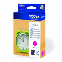 Brother originál ink LC-125XLM, magenta, 1200str., Brother MFC-J4510 DW LC125XLM