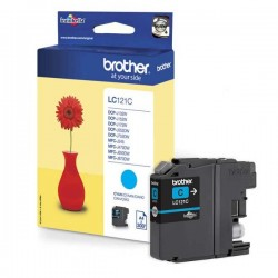 Brother originál ink LC-121C, cyan, 300str., Brother DCP-J552DW,...