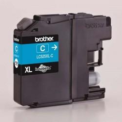 Brother originál ink LC-525XLC, cyan, 1300str., Brother DCP J100, DCP J105, MFCJ200 LC525XLC