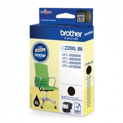 Brother originál ink LC-229XL, black, 2400str., Brother MFC-J5320DW, MFC-J5620DW, MFC-J5720DW LC229XLBK