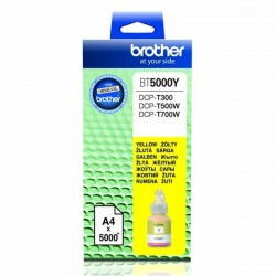 Brother originál ink BT-5000Y, yellow, 5000str., Brother DCP T300, DCP T500W, DCP T700W BT5000Y