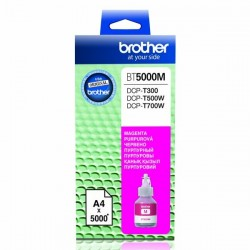 Brother originál ink BT-5000M, magenta, 5000str., Brother DCP T300, DCP T500W, DCP T700W BT5000M