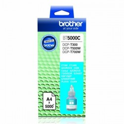 Brother originál ink BT-5000C, cyan, 5000str., Brother DCP T300, DCP T500W, DCP T700W BT5000C