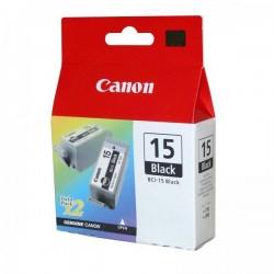 Canon originál ink BCI15B, black, 390str., 8190A002, 2ks, Canon i70