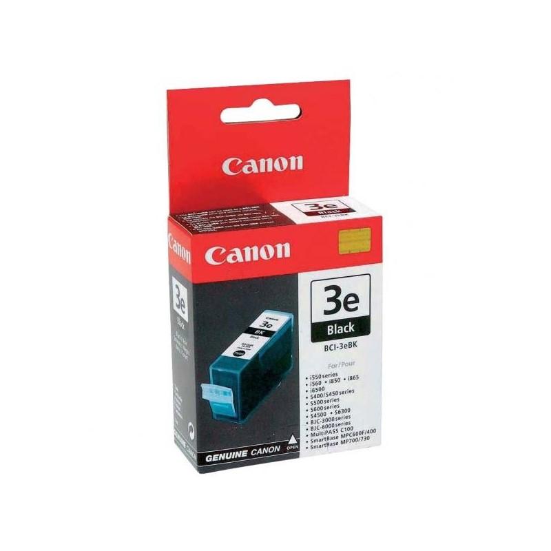 Canon originál ink BCI3eBK, black, 500str., 4479A002, Canon BJ-C6000, 6100, S400, 450, C100, MP700