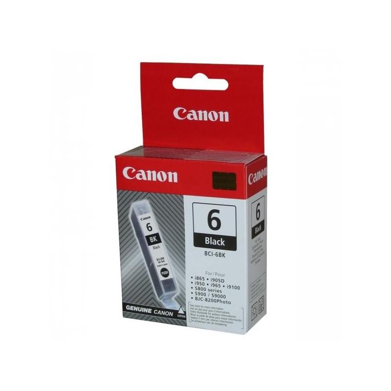 Canon originál ink BCI6BK, black, 4705A002, Canon S800, 820, 820D, 830D, 900, 9000, i950