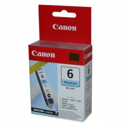 Canon originál ink BCI6PC, photo cyan, 4709A002, Canon S800, 820D, 830D, 900, 9000, i950