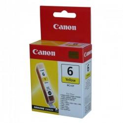 Canon originál ink BCI6Y, yellow, 280str., 4708A002, Canon S800, 820, 820D, 830D, 900, 9000, i950
