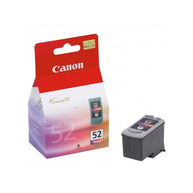 Canon originál ink CL52, photo, 710str., 3x7ml, 0619B001, Canon CLC-10, BC40B