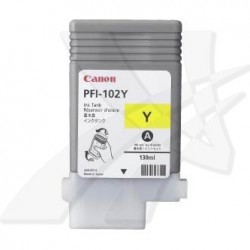 Canon originál ink PFI102Y, yellow, 130ml, 0898B001, Canon iPF-500, 600, 700