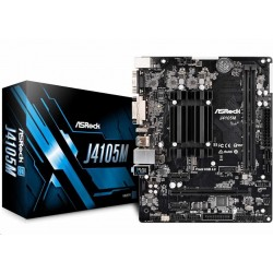 ASRock MB Int.procesor J4105M, 2xDDR4, VGA, mATX