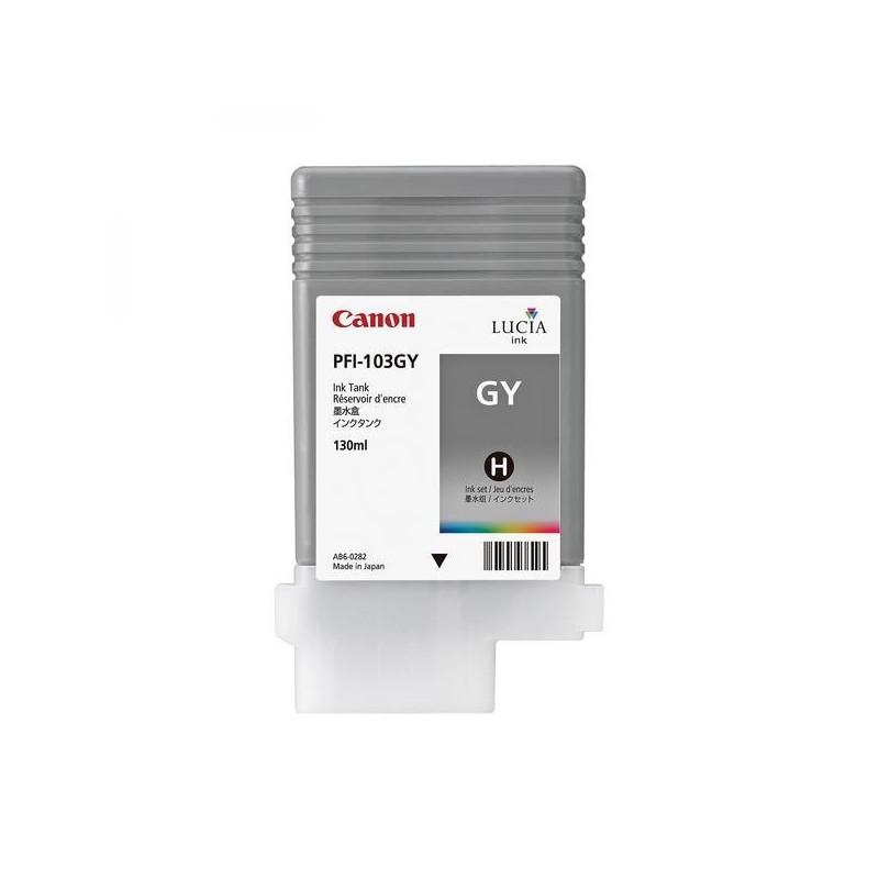 Canon originál ink PFI103GY, grey, 130ml, 2213B001, Canon iPF-5100, 6100