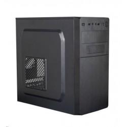 EUROCASE skříň MC X204 EVO black, micro tower, 1x USB 3.0, 2x USB...