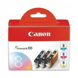 Canon originál ink CLI8CMY, cyan/magenta/yellow, 0621B029, 0621B026, Canon iP4200, iP5200, iP5200R, MP500, MP800