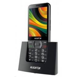 Aligator A900 Senior, černá  nabíjecí stojánek A900B