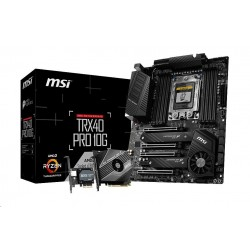 MSI MB Sc sTRX4 TRX40 PRO 10G (AMD TRX40, 8xDD4) součástí balení M2...
