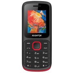 Aligator D210 Dual SIM, černo-červený AD210BR