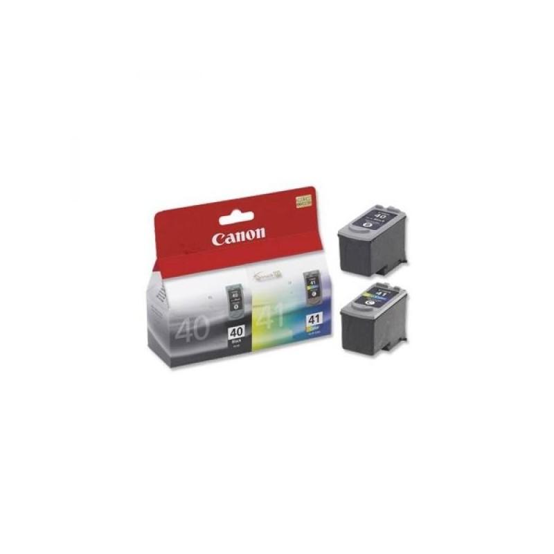 Canon originál ink PG40/CL41 multipack, black/color, 16,9ml, 0615B043, Canon iP1600, 2200, MP150, 170, 450