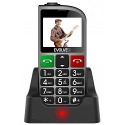 EVOLVEO EasyPhone FM, mobilní telefon pro seniory s nabíjecím...