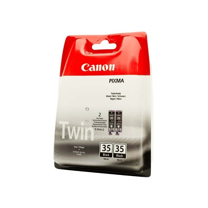 Canon originál ink PGI35BK, black, 2x191str., 1509B012, 2ks, Canon Pixma iP100