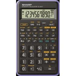 SHARP kalkulačka - EL-501T - fialová (balení box) SH-EL501TVL
