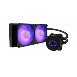 Cooler Master vodní chladič MasterLiquid ML240L RGB V2, 240mm AiO...