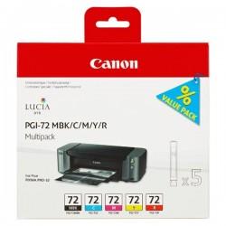 Canon originál ink PGI72 CMYK, CMYK, 6402B009, Canon PIXMA Pro-10