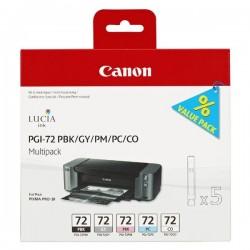 Canon originál ink PGI72, PBK/GY/PM/PC/CO, 6403B007, Canon PIXMA...