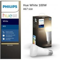 PHILIPS Hue White žárovka 15.5W E27 A67 DIM 871869974799200