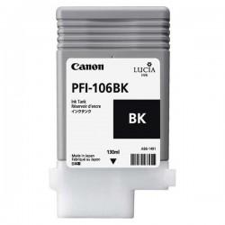 Canon originál ink PFI106BK, black, 130ml, 6621B001, Canon iPF-6300