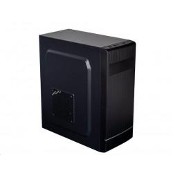 EUROCASE skříň ML X301 black, micro tower, 2x USB 2.0, bez zdroje...