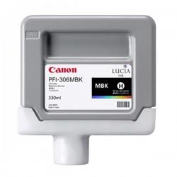 Canon originál ink PFI306MBK, matte black, 330ml, 6656B001, Canon iPF-8300