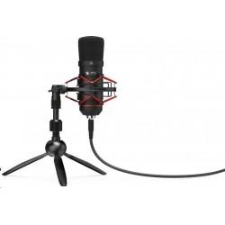 SPC Gear mikrofon SM900T Streaming microphone / USB / tripod / pop...
