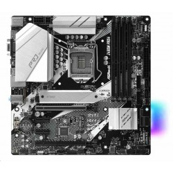 ASRock MB Sc LGA1200 Z490M Pro4 ,Intel Z490, 4xDDR4, HDMI, DP