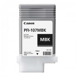 Canon originál ink PFI107MBK, matte black, 130ml, 6704B001, Canon...