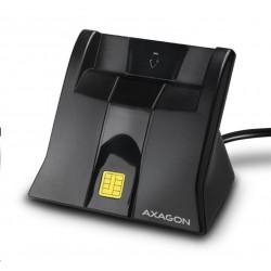 AXAGON CRE-SM4, USB externí StandReader čtečka kontaktních karet...