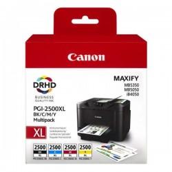 Canon originál ink PGI-2500XL Bk/C/M/Y multipack, black/color,...