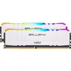 CRUCIAL Ballistix RGB White 2x8GB/DDR4/3200/CL16 BL2K8G32C16U4WL
