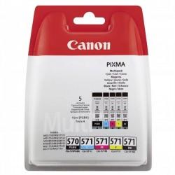 Canon originál ink PGI-570/CLI-571 PGBK/C/M/Y/BK Multi pack,...