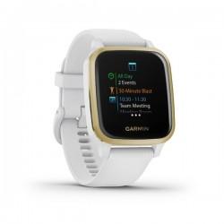 GARMIN VENU SQ, White/Light Gold, Smart hodinky 010-02427-11