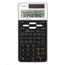 SHARP kalkulačka - EL531TGWH - bílá - box - Solární  baterie...