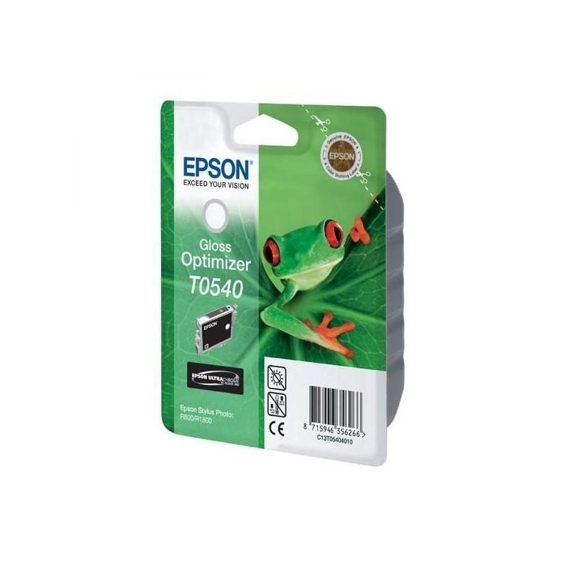 Epson originál ink C13T054040, glossy optimizér, 400str., 13ml, Epson Stylus Photo R800, R1800 C13T05404010