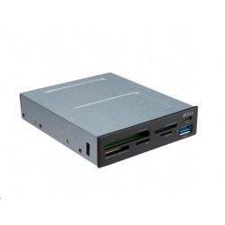 AKASA přední panel  multi čtečka paměťových karet, interní, USB 3.1...