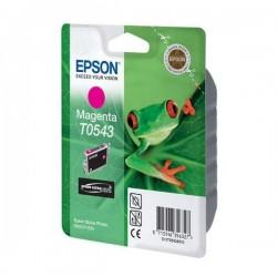Epson originál ink C13T054340, magenta, 400str., 13ml, Epson Stylus Photo R800, R1800 C13T05434010