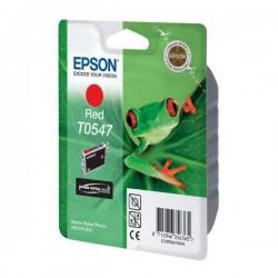 Epson originál ink C13T054740, red, 400str., 13ml, Epson Stylus Photo R800, R1800 C13T05474010