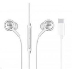 Samsung stereo sluchátka EO-IC100BWE, USB-C, bílá EO-IC100BWEGEU