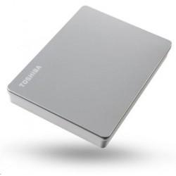 """TOSHIBA HDD CANVIO FLEX 4TB, 2,5"""", USB 3.2 Gen 1, stříbrná / silver..."""