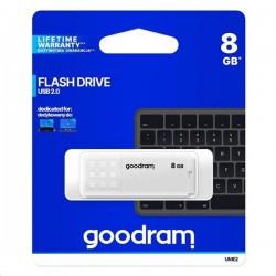 8 GB .  USB kľúč . GOODDRIVE Biela UME2-0080W0R11
