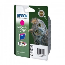Epson originál ink C13T079340, magenta, 11,1ml, Epson Stylus Photo 1400 C13T07934010